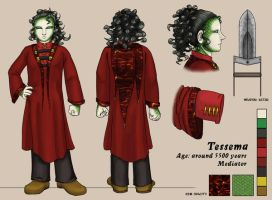 Character Sheet - Tessema by swiftgold