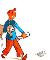 Tintin by DontbeModest