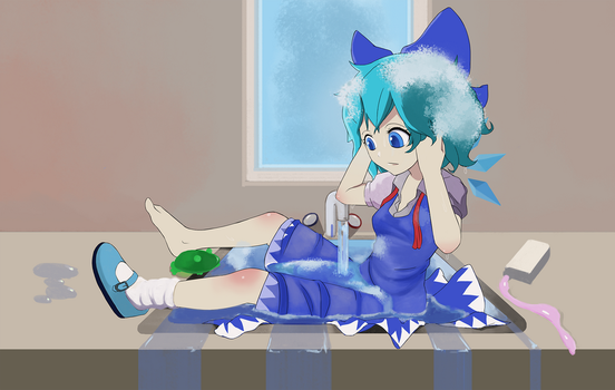 Cirno by doenoll