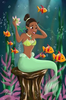 TIANA MERMAID by FERNL