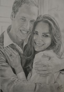 Portrait_Will-Kate by nikz87