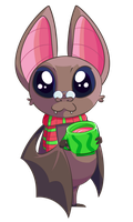 Uppy the Bat by ScaredyAsh006