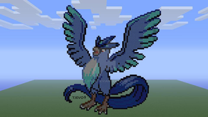 Articuno on Minecraft Xbox 360 Edition by tjevo9