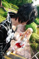 Sword Art Online - Kirito Asuna by Xeno-Photography