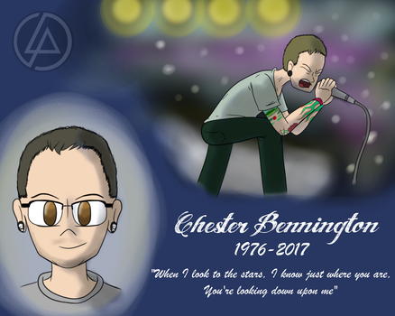 Chester Bennington Tribute 1976 - 2017 by X-Chopper