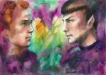 Star Trek: Jim and Spock by SirSubaru