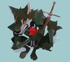 the good wolf by genicecream