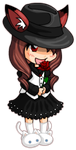 Shattered Promises Gaia chibi by diaboso