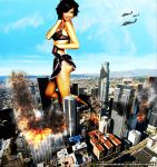 Giantess Adriana Lima What Do You Want by GiantessStudios101