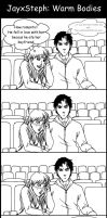 JasonxStephanie: Warm Bodies by kay-sama
