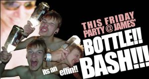 Bottle Bash Flyer by fightignorance