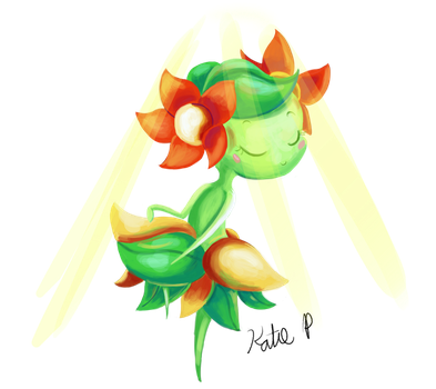 Bellossom used Sunny Day! by AClockworkKitten