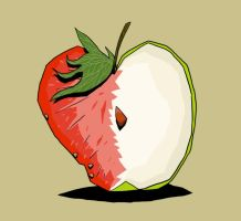 A Strawberry Apple by soliton