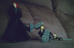 Axel trips Sora. by Kitty-Terula