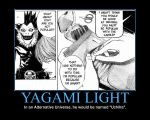 Motivation - Yagami Light by Songue