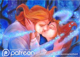 Breaking the curse - Beauty and the Beast 1991 by AuroraWienhold