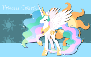 Princess Celestia WP by AliceHumanSacrifice0