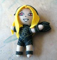 Plush Kat from Gravity Rush by Blenia