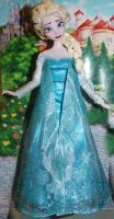 Ooak Disney Store Elsa from Frozen  Repainted #2 by FortuRaider