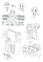 Doctor Who Sketches by LiLy-GaRdIs