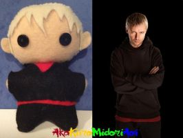 BBC Doctor Who Plushes: The Master (John Simm) by AkaKiiroMidoriAoi