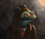 Aviator Frog by Andyroid0