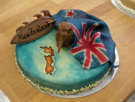 New Zealand cake by KiraSaintclair