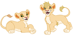 Betrothed III (lion cub adoptable closed) by GaiaGirl2468