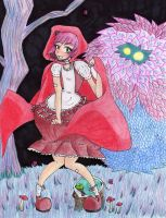 Little red riding Yaya by GeckoSpine