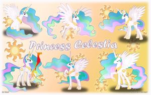 Princess Celestia v2 by KyssS90