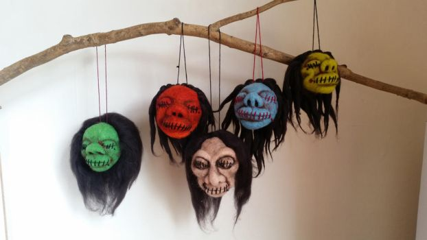 Shrunken Head Collection by HeartfeltCreations