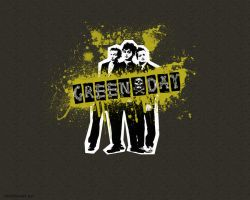 Green Day Wallpaper. by alexloony