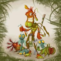 Nepenthes : Insect Hunter by polawat
