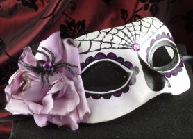 Silk-Day of the Dead Mask by EffigyMasks