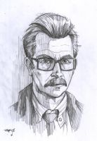 Batman - Jim Gordon by ArkadeBurt
