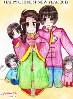 HAPPY CHINESE NEW YEAR 2012 by Selinawen
