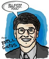 Bill Gates 0wnz j00 by halfliquid