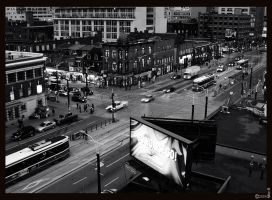 Queen and Spadina, Toronto by mykem