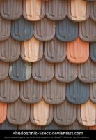 Castle Roof Tiles texture stock by Khudozhnik-Stock