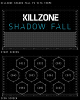 Killzone Shadow Fall PS Vita Theme by ropa-to