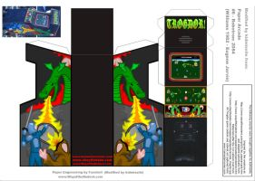 Trogdor Arcade Cabinet by kidmissile