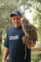 Me and a Owl. by ComsumedDarkness