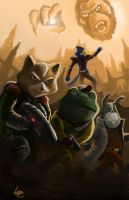 Star Fox Effect by VictorElessar