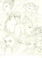Rise of the Guardians Sketch by Ncproductionsrule