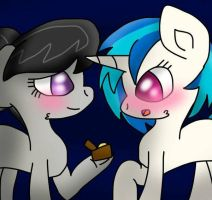 Octavia's Proposal To Vinyl By rosiepie15 by ice1517