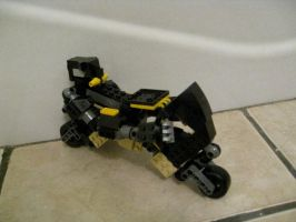 Lego Prowl Motorcycle Mode by jnkwarrior
