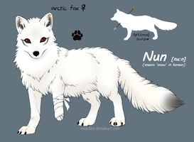 Winter fursona - Nun by Mootdam