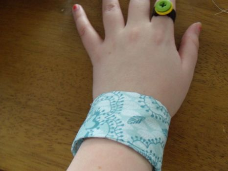 Fabric Cuff Bracelet 1 by ImmortalEcstasyDream