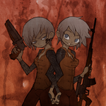 Commission - Suka / Sniper and Shotgun Modi by Eternaldragon345