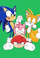 knuckles is a knucklehead by ss2sonic
